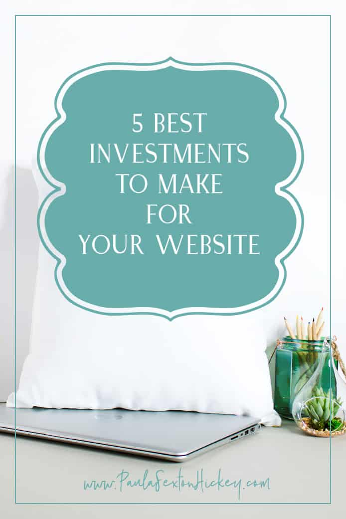 5 best investments to make for you website