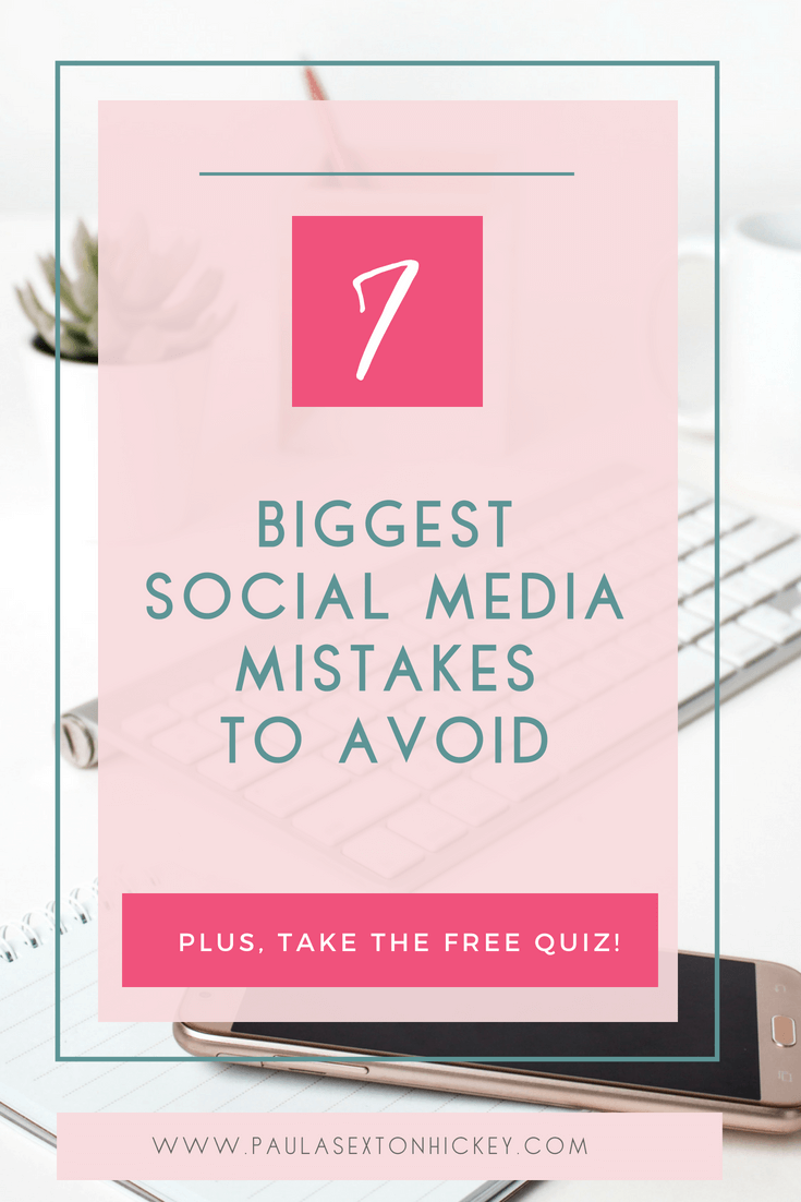 7 biggest social media mistakes to avoid