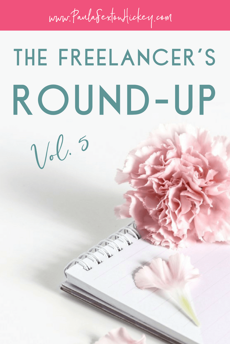 The Freelancer's Round-Up Vol 5 -Tips for Pinterest, Facebook Pages and more!
