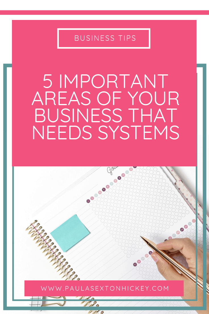 5 important Areas of Your Business that Need Systems