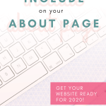 What to Include on Your About Page for 2020