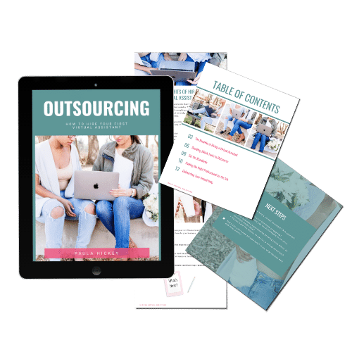 Outsourcing How to hire your first virtual assistant