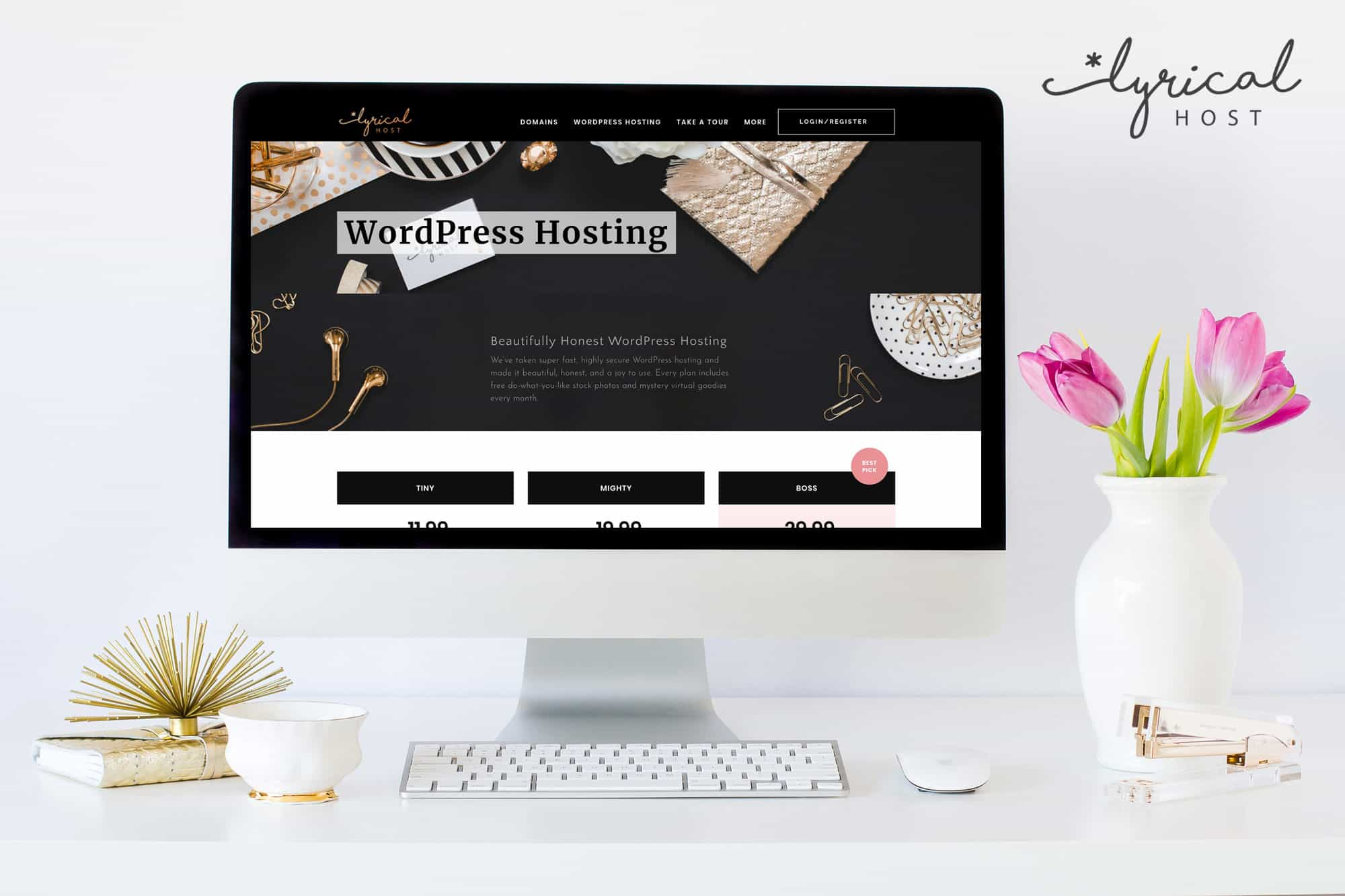 How to Start Your Business Website With Lyrical Host